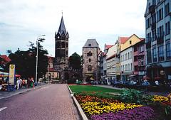 Eisenach, Mikls-kapu (ossian71) Tags: nmetorszg germany deutschland eisenach tringia thringen plet building memlk sightseeing kapu gate vroskp city