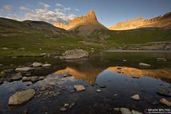 Golden Horn Colorado (WildernessShots.com) Tags: colorado rockymountains sunrise reflection landscape san juan mountains