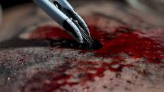 (Euter Mangia Fotografia) Tags: euter mangia fotografia fine art tattoo tatuagem blood sangue agulha arte pele
