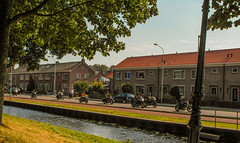 54-Never ending Convoy of Moterbike Enthusiasts  Monnickendam  25Sep16 (1 of 1) (md2399photos) Tags: broekinwaterland hollandholiday25sep16 irenehoevetouristshop monnickendam