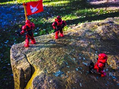 Claiming the Top (The Spar7an) Tags: halo megabloks military outdoors lego