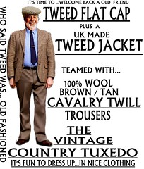 the Country Tuxedo wear tweed 1 (Ban Long Line Ocean Fishing) Tags: countrytuxedo tweed tweedjacketphotos tweeds tweedjacket tie twill texture tweedcoat trousers classic clothing canon coat country christchurch cavalrytwill cavalry nz newzealand napier nelson wellington blazer bloke guy cap clothes tweedcap flatcap scottish scotland uk british britain english england mens man mensfashion menswear hastings hamilton harris text houndstoothtweedjacket houndstooth harristweeds candid countrytweeds cavalrytwilltrousers coatjacketjacketcoats color retro oldschool old older