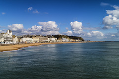 From the Pier 2 (Kieron Pelling) Tags: hastings eastsussex seafront clouds