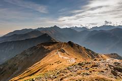 Czerwone Wierchy w stronę Tatr Wysokich (czargor) Tags: tatry nature mountians mountainside tatra mountains czerwone wierchy
