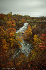 End of Week, End of Season (awaketoadream) Tags: autumn ontario canada color water river cloudy colour fall long niagara waterfall falls mount cascade exposure vertical colours hamilton albion gorge escarpment redhill red hill valley creek