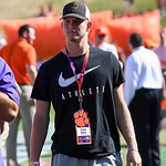 Recruits at Clemson-NC State game Photos