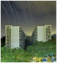 "Remnant of ""Chap Lau Chu"" (091016) (n._y_c) Tags: omd olympus outdoor oly omdem5mk2 singapore 10storey chaplauchu commonwealth m43 microfourthird livecomposite publichousing mz714f28pro startrails longexposure"