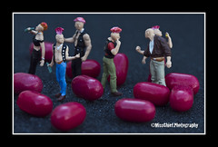 Dropping pills ( MissChief Photography ) Tags: minipeople miniatures miniworld punks pills sweets rude nasty