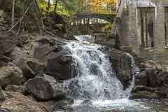 DSC_0257 (PaulPagPhotos) Tags: ruins falls waterfalls mills autumn fallcolours gatineaupark leaves water abandonedbuildings abandonedplaces carbidewilson