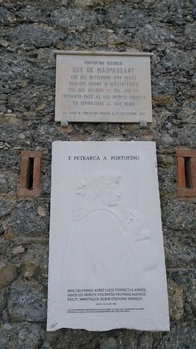 Guy de Maupassant plaque, Portofino