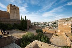 Granada - La Alhambra (JOAO DE BARROS) Tags: spain alhambra joo barros monument architecture castle granada