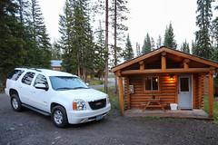 Cabin at Togwotee Mountain Lodge (gunigantip) Tags: moran wyoming unitedstates gtnp grandtetonnationalpark grandtetons tetons nationalpark togwotee mountain lodge cabin