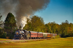 Summerville Steam Special (Howell Weathers) Tags: summervillesteamspecial steamengine steam engine tennesseevalleyrailroad tennvalleyrr tvrr 4501 282 mikado hdr