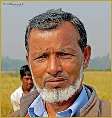 Portrait of brother Khan (dark-dawud) Tags: brother kalaborpur khanbari bangladesh sylhet nabiganj man asia asian portrait beard family happy ricefields 2014