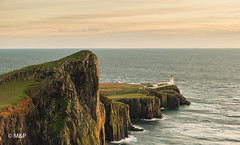 Classic Neist Point (MNP[FR]) Tags: 2016 ecosse scotland landscape sunset water lighthouse rocks seascape samsung mer paysage isle skye phare falaise rochers neist point ocan le de nx1