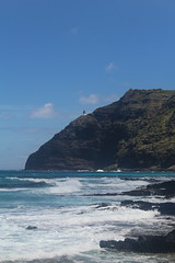 IMG_1210 (michelleingrassia) Tags: makapuubeach beach ocean oahu hi hawaii lavarock lighthouse