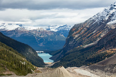 Welcome to the Other Side (anick.viel) Tags: lake louise lakelouise rockymountains rockies chateaulakelouise plainofthesixglaciers rocky mountain