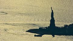 ... The Lady ... (wolli s) Tags: contrast flickr liberty libertyisland ny nyc newyork newyorkcity silhouette us usa aida kreuzfahrt diva