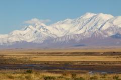 Pamir, Landscape (José Rambaud) Tags: kyrgyzstan pamir asia asiacentral centralasia rutadelaseda silkroad nieve snow snowcapped cordillera range montañas moon landscape paisaje paysage viaje travel traveler