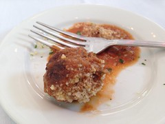 Meatball Amuse, Desi Vega's Steaknhouse, New Orleans LA (Deep Fried Kudzu) Tags: desi vegas steakhouse steak new orleans louisiana amuse buche meatball