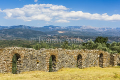 Wall (Ivanov Andrey) Tags: temple ruins architecture chapel archaeology color colorful culture faith harmony history journey landscape light meditation monastery monument nature old prayer religion religious scenic column arch staircase step plate sun stone stones symbol tranquil travel wall walls worship greece