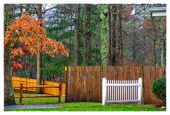 A Four Fence Friday (Timothy Valentine) Tags: friday 2016 1116 large fence eastbridgewater massachusetts unitedstates us