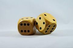 IMG_8043 (LezFoto) Tags: macro closeup wooden wood dice woodendice 50mm canon eos 700d ef100mm f28l fun 2 3 4 6 two three four six 5 five