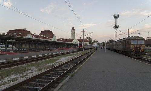 Burgas railway station, 09.10.2014.