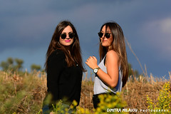 a lovely day... (dimitra_milaiou) Tags: day greece nature people europe friends friendship photography model woman girl color colours light sky fall greek nikon d 7100 d7100 dimitra maria milaiou photo shooting walking walk flowers october athens city park glasses long hair faces portrait blue black women two 70210mm f14 ngc 9 2016 beautiful lovely nice awesome good morning goodmorning happy happiness joy smile chroni stafyla