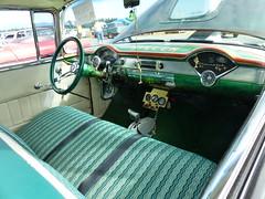 1955 Chevy 210 (bballchico) Tags: 1955 chevrolet chevrolet210 arlingtoncarshow carshow 1950s toxicgreenkiller davidobee dragcar 206 washingtonstate arlingtonwashington
