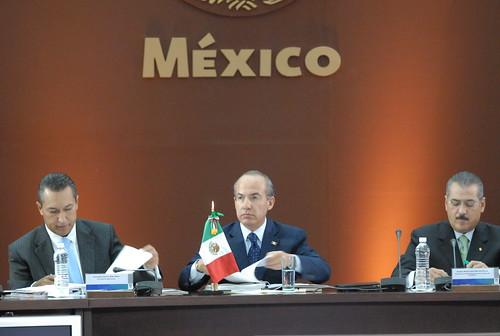 El gobernador Javier Duarte de Ochoa asistió a la XXX Sesión del Consejo Nacional de Seguridad Pública 7