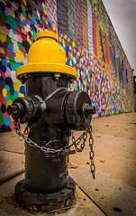 Graffiti Hydrant (lebaron360) Tags: hydrant mural street art