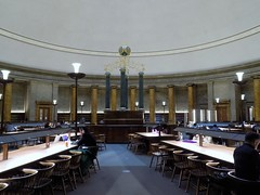 The Main Reading Room in a Library in Manchester (itnmarkeducation) Tags: library learning books book teach teacher bookshelf columns manchester itnmark education teaching studying revising reference