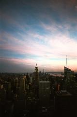Ultramax-7 (Shonkikong) Tags: nyc newyork usa america bigapple travel analog analogue topoftherock skyline manhattan