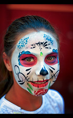 Day of the Dead 2016 - San Miguel de Allende, Mexico (Sam Antonio Photography) Tags: sanmigueldeallende samantoniophotography portrait holiday background dia los mexican white mexico muertos death catrina skull dead day halloween festival decoration female girl scary paint makeup traditional november folklore culture tradition horror tattoo celebration sugarskull dayofthedead carnival beauty magic oneperson nightmare conceptual mexicanculture katrina gothic dangerous diadelosmuertos youngwoman zombie