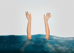 144/365 Uncharted Territories (itskatrinayu) Tags: hands handsinframe water surrealphotography