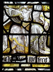 Sellack, Herefordshire (Sheepdog Rex) Tags: stainedglass crucifixion sttysilioschurch sellack