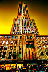 Empire State Building, NYC (mehr-zad) Tags: nyc newyorkcity empirestatebuilding midtownmanhattan manhattan iconicnyc