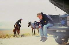 (trom.pom) Tags: 35mm analog filmphotography velvia kodak expiredfilm kazakhstan setlife bts nature horses offroad adventure travel smoking  zenit12cd break light