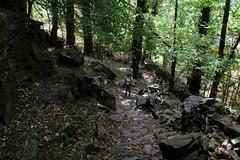 Val d'Aosta - Valle di Gressoney: Perloz, salendo da Nantey a Chemp (mariagraziaschiapparelli) Tags: valdaosta valledigressoney allegrisinasceosidiventa montagna mountain camminata escursionismo chemp perloz mulattiere villaggio frazione