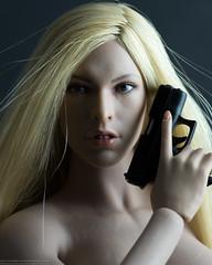 Bond Girl (edwicks_toybox) Tags: 16scale femaleactionfigure femaleshooter girlswithguns jamesbond mauricebinder phicen seamlessbody verycool