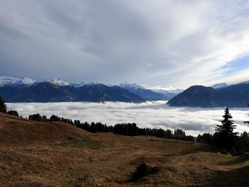 Nebelmeer im Domleschg