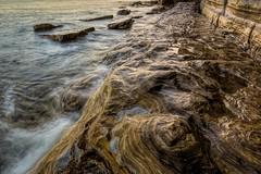 Swirls (James Waghorn) Tags: textures beach hoya pettlevel longexposure nd32 water reflections rocks waves winter eastsussex d7100 sea swirls england sigma1020f456