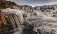 Cauldron Falls, Rannoch Moor, Scotland (MelvinNicholsonPhotography) Tags: cauldronfalls rannochmoor scotland glencoe waterfalls ice cold winter water rocks gitzo manfrotto mindshift canonuk canon5ds melvinnicholsonphotography