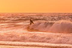 -  (lermaniac) Tags:  sunset beach surf sea dusk waves outdoors