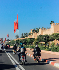 streets of morocco (Pamela_Souza) Tags: morocco moroccostreets marrocos portrait streetphotography bikes 50mm canon