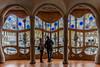 Casa Batllo Windows (Glenn Shoemake) Tags: canonef1635f28lii casabatllo gaudi barcelona