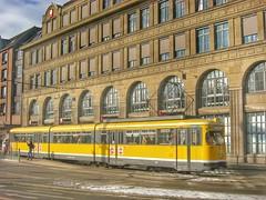 Straenbahn 829 der SWK Krefeld (Haeppi) Tags: tram krefeld streetcar nahverkehr dwag strasenbahn