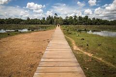 Jayatataka Baray Causeway (chrisgj6) Tags: cambodia kh siemreap krongsiemreap