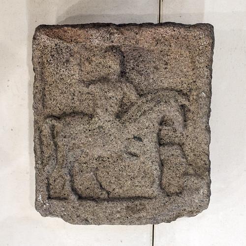 Roman-period stone relief of the Thracian Rider